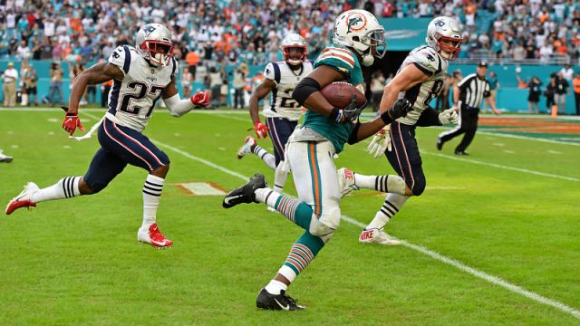 Miami Dolphins running back Kenyan Drake