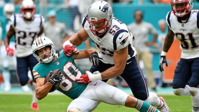 New England Patriots middle linebacker Kyle Van Noy