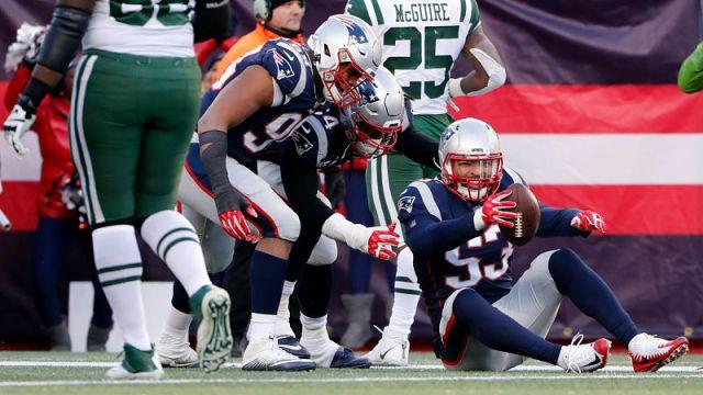New England Patriots linebacker Kyle Van Noy