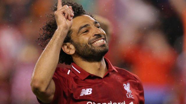 Liverpool player Mohamed Salah