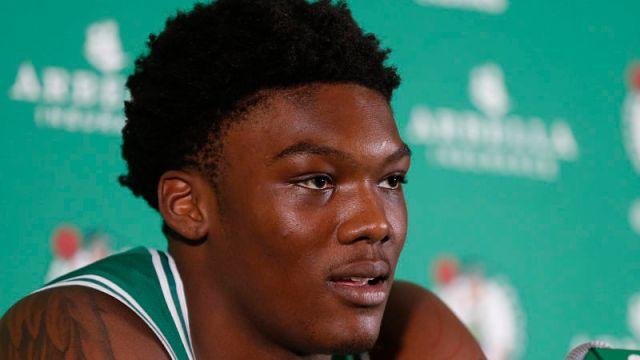 Boston Celtics forward Robert Williams III
