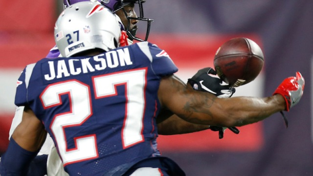 Patriots cornerback JC Jackson