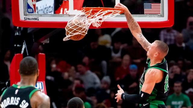 Boston Celtics' Daniel Theis