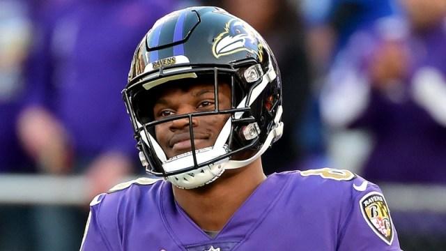 Baltimore Ravens' Lamar Jackson