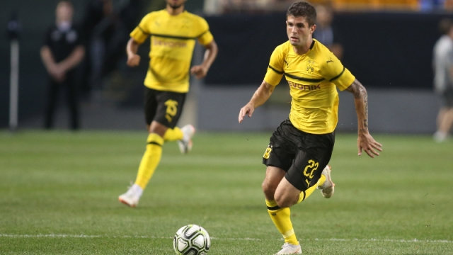 Borussia Dortmund midfielder Christian Pulisic