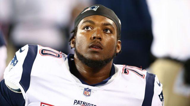 New England Patriots defensive lineman Adam Butler