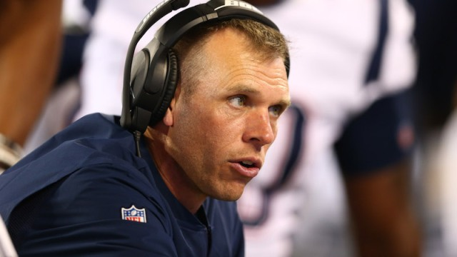 Patriots defensive line coach Brendan Daly