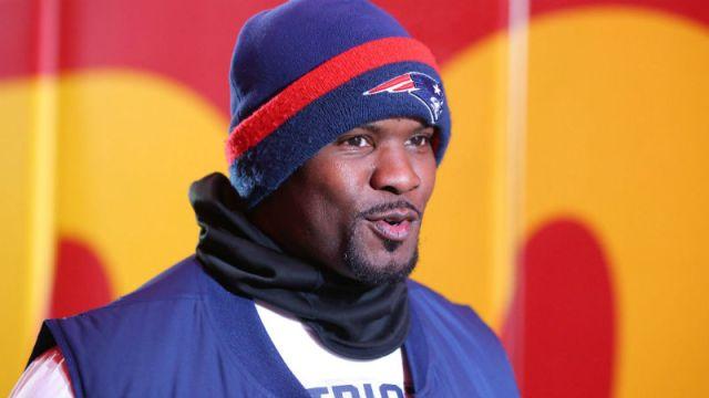 New England Patriots linebackers coach Brian Flores