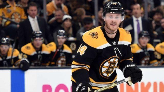 Boston Bruins Right Winger Chris Wagner