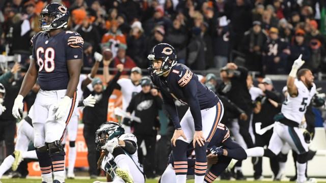 Chicago Bears Kicker Cody Parkey