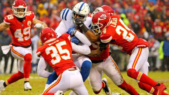 Indianapolis Colts tight end Eric Ebron