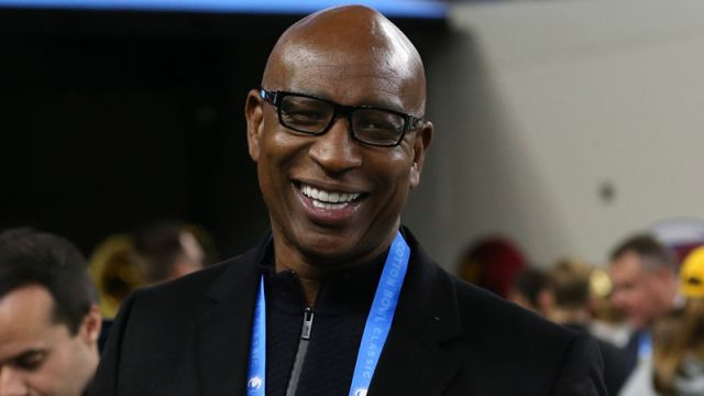 Former NFL running back Eric Dickerson