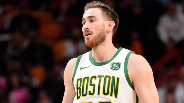 Boston Celtics Forward Gordon Hayward