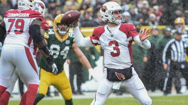 Arizona Cardinals quarterback Josh Rosen