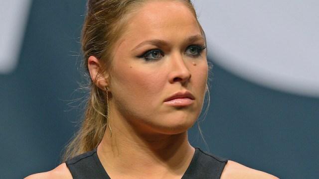 WWE star Ronda Rousey