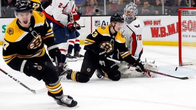 Boston Bruins Center Ryan Donato