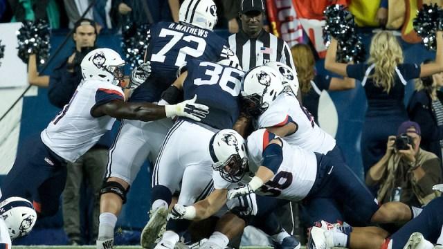 Patriots offensive tackle Ryker Mathews