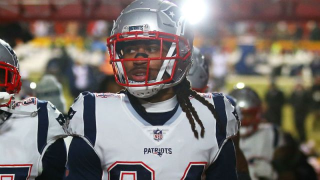 New England Patriots cornerback Stephon Gilmore