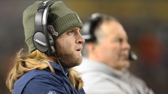 New England Patriots Safeties Coach Steve Belichick