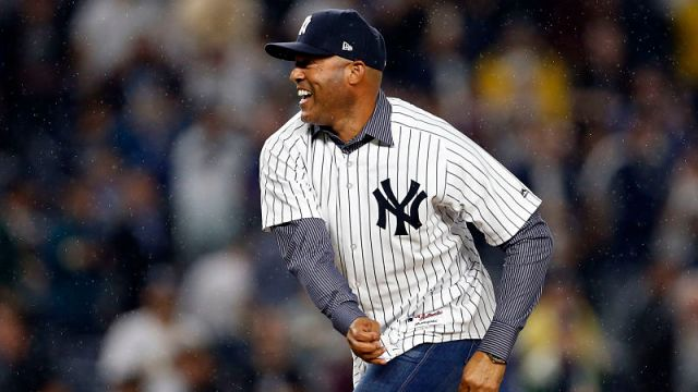 Former Yankees pitcher Mariano Rivera