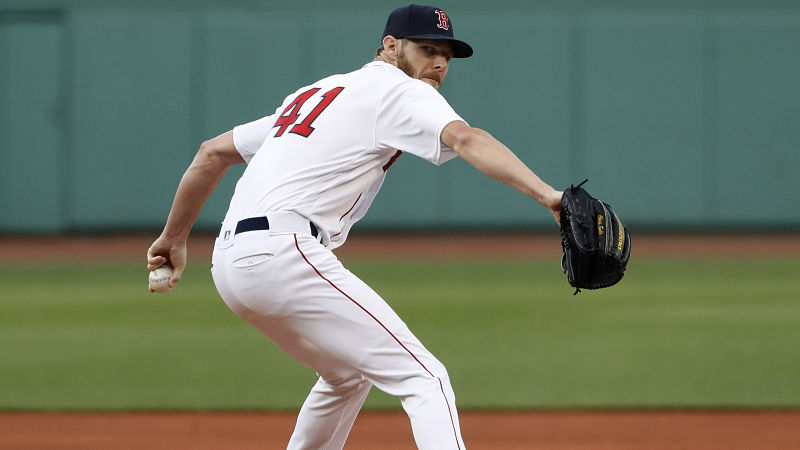 Chris Sale Looks To Continue Strong Performance Vs. Rays In Series Finale