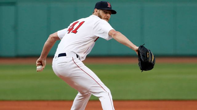 Boston Red Sox pticher Chris Sale