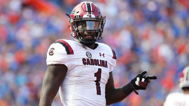 South Carolina wide receiver Deebo Samuel
