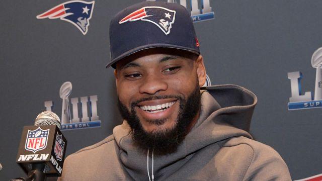 New England Patriots linebacker Elandon Roberts