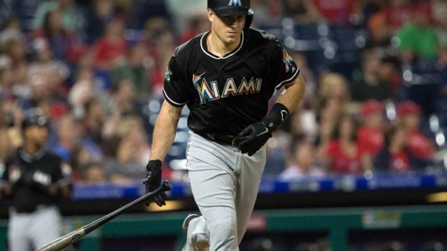 MLB catcher J.T. Realmuto