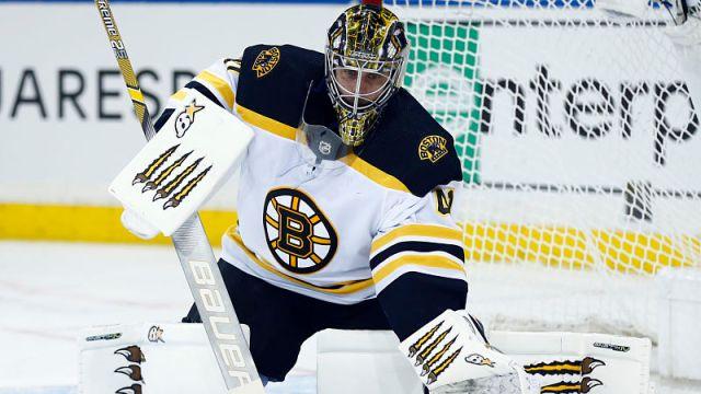 Bruins goalie Jaroslav Halak