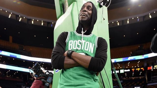 Former Boston Celtics star Kevin Garnett