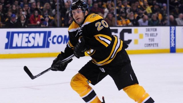 Boston Bruins Forward Lee Stempniak