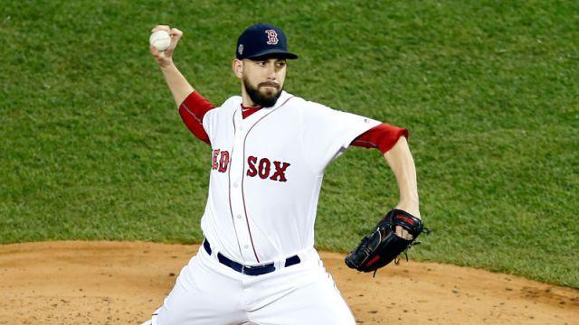Red Sox pitcher Matt Barnes