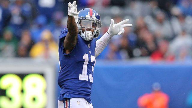 New York Giants wide receiver Odell Beckham Jr.