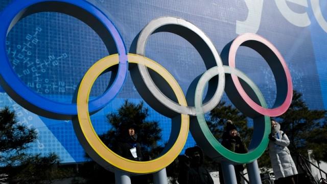 Pyeongchang Olympic Rings