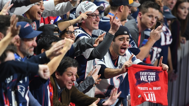 New England Patriots Fans Celebrate Super Bowl LIII Victory Over Los Angeles Rams