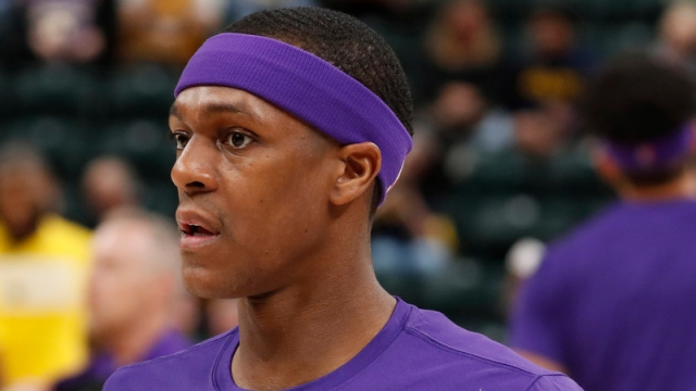 Los Angeles Lakers Guard Rajon Rondo