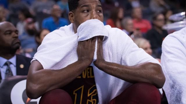 Cleveland Cavaliers center Tristan Thompson