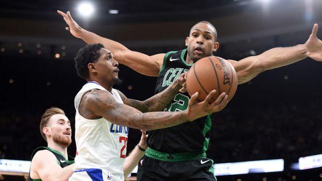 Los Angeles Clippers guard Lou Williams, Boston Celtics center Al Horford