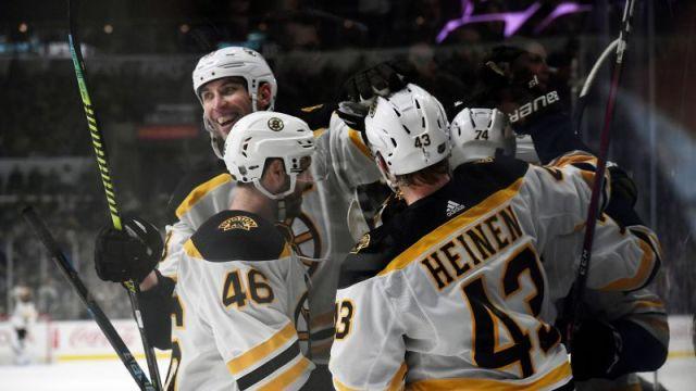 Bruins Vs. Kings Celebration