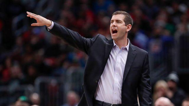 Celtics coach Brad Stevens