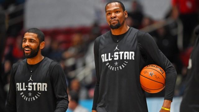 Celtics' Kyrie Irving, Warriors' Kevin Durant