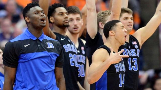 Duke Men's Basketball Team