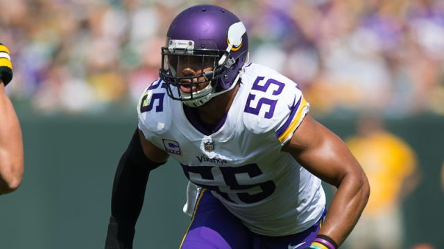 Minnesota Vikings linebacker Anthony Barr