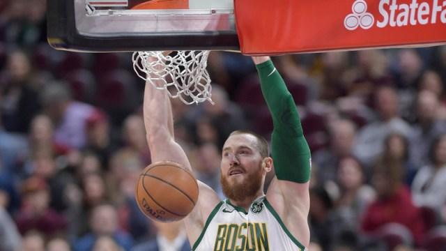 Celtics Center Aron Baynes