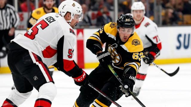 Boston Bruins' Brad Marchand