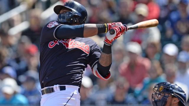 Cleveland Indians' Hanley Ramirez