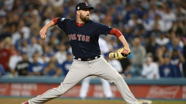 Boston Red Sox reliever Heath Hembree