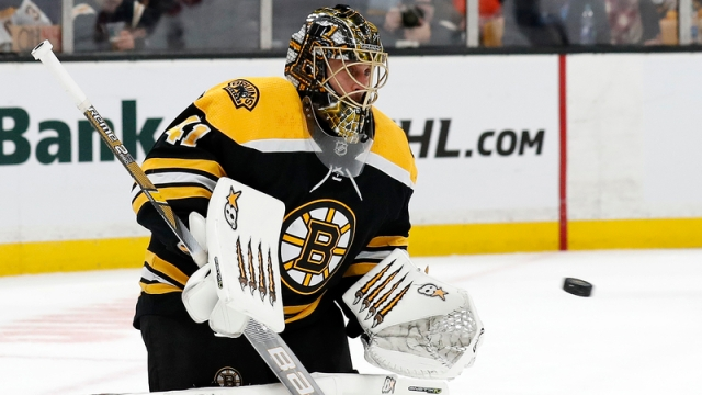 Boston Bruins goalie Jaroslav Halak