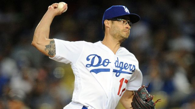Los Angeles Dodgers pitcher Joe Kelly